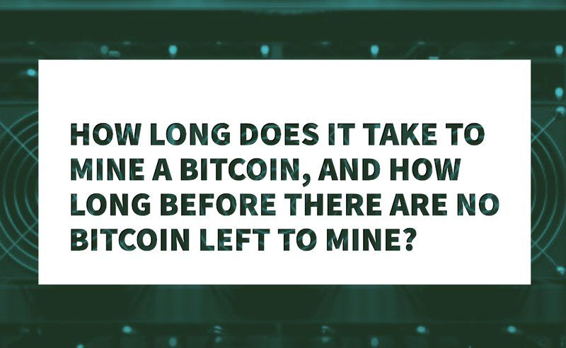 How Long Does It Take To Mine A Bitcoin